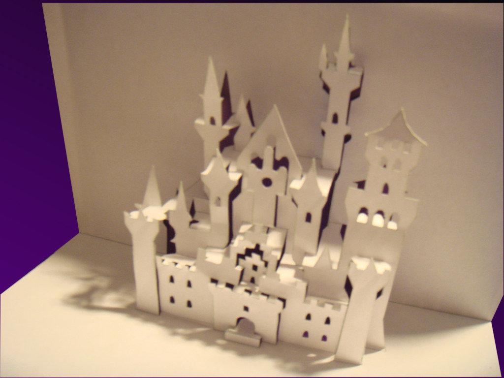 Болеем картинки, открытка с объемным замком