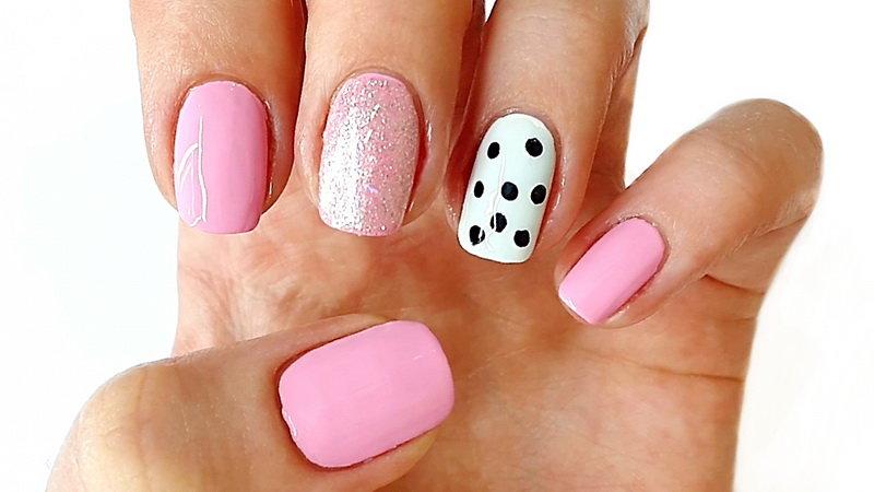 Лёгкие дизайн ногтей