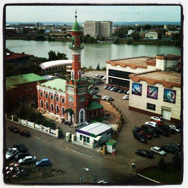 Вид из окна Казанского офиса IBM. View from IBM office in Kazan (Russia). Nice place to work. #IBM #Kazan #Russia #Казань #Россия @IBM