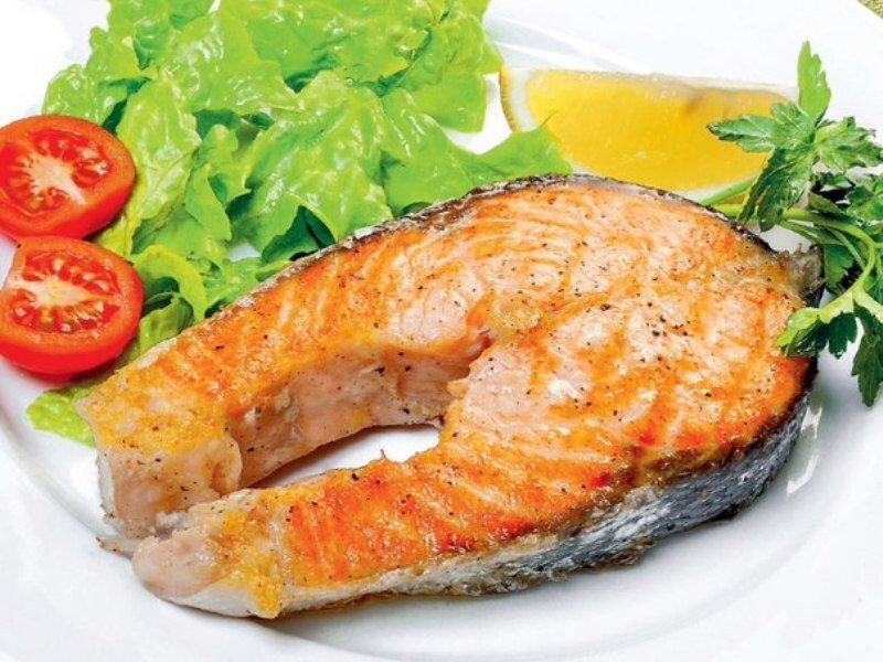 стейка рыбы Рецепт из