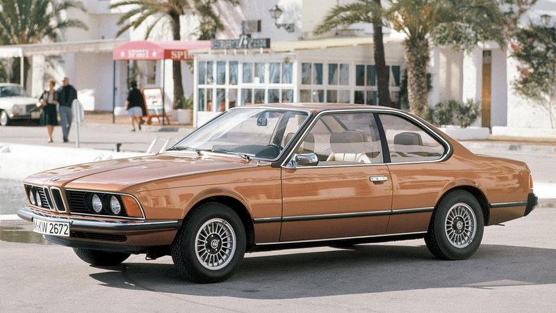 Автомобиль BMW 630CS E24 1976-79 - Бронзовый металлик (классика)