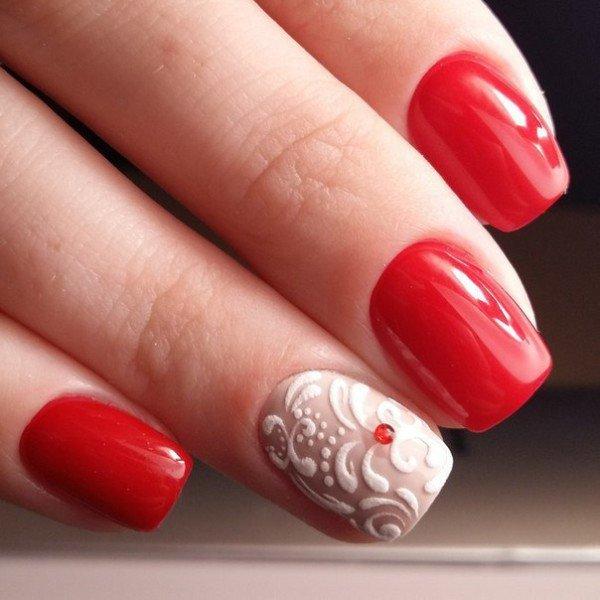 Современные покрытия (в частности, гель-лаки) вообще позволяют творить с текстурами абсолютно потрясающие вещи. Так, например, теперь без труда можно сделать на ногтях объемные узоры, бархатистые на вид и на ощупь