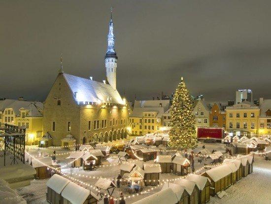 Достопримечательности на Новый год. Таллин