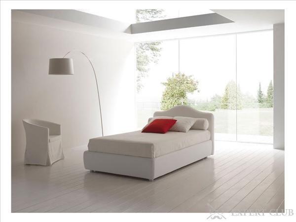 Дизайн односпальной кровати 89