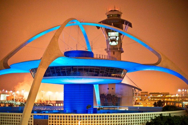 Международный аэропорт Лос-Анджелес. Los Angeles International Airport, LAX