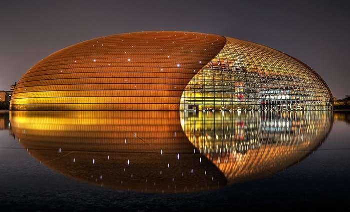 Национальный центр исполнительских искусств, Пекин.