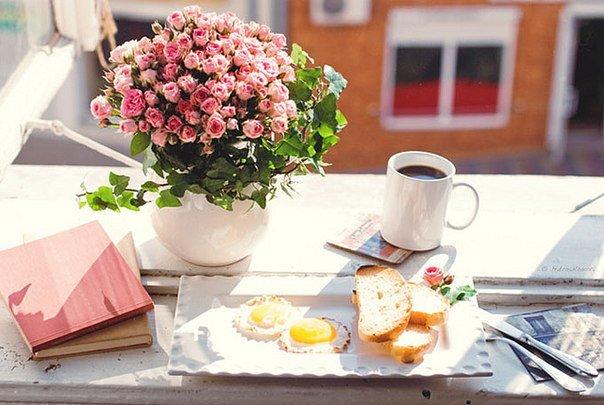 завтрак на море