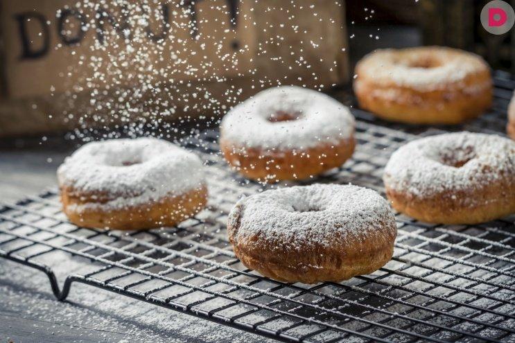 как приготовить пончики с повидлом в домашних условиях видео