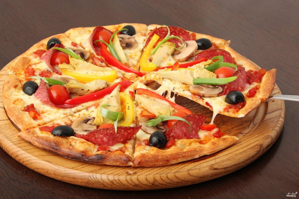 красиво оформленная пицца фото пешие прогулки каждый