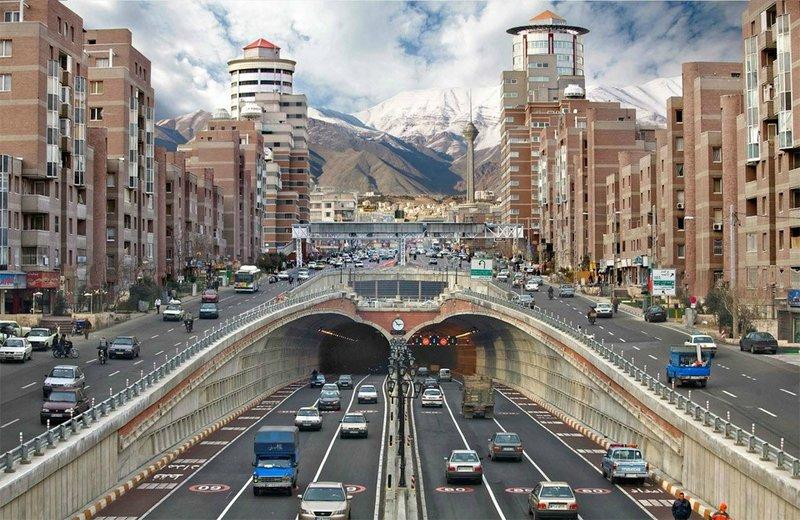 красивый город в Иране