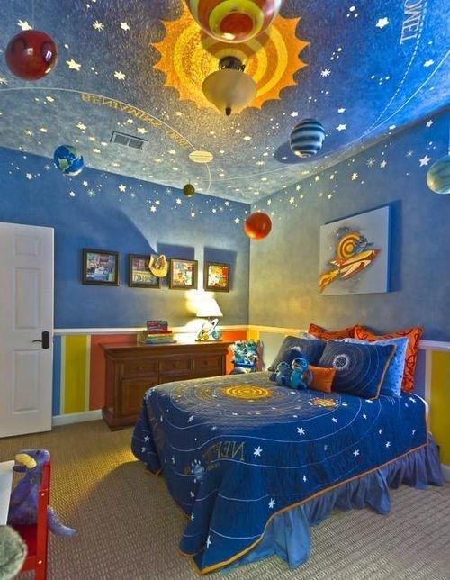 Заказать детскую комнату в космическом стиле