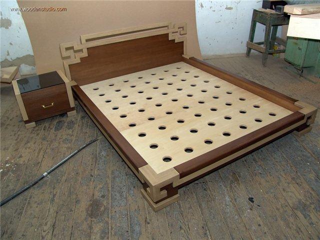 Как сделать кровать из мдф