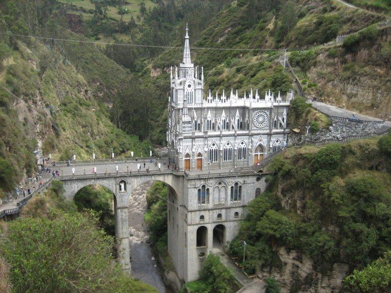25 уникальных храмов мира Собор Лас-Лахас, Колумбия история, факты, храмы