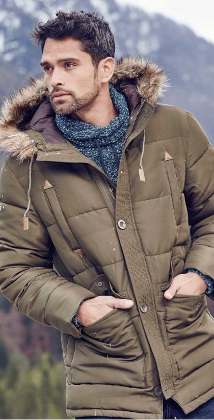 представим мужчины в зимней одежде фото уверенность