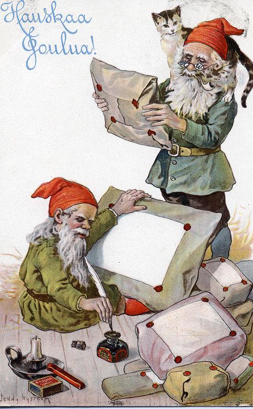 Старинные шведские открытки