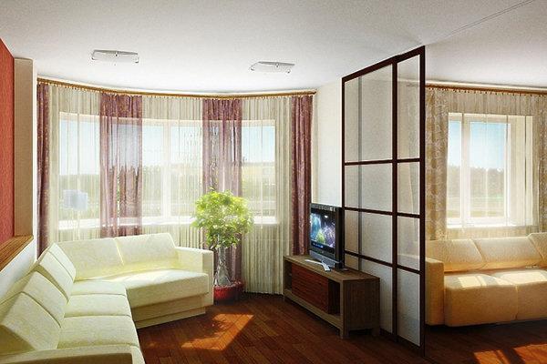 фото дизайн перепланировки двухкомнатных квартир
