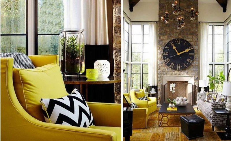 Домашний интерьер и дизайн, фото интерьера дома