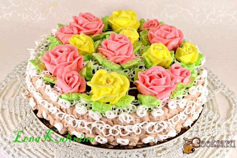 бисквитные торты рецепты легкие с фото