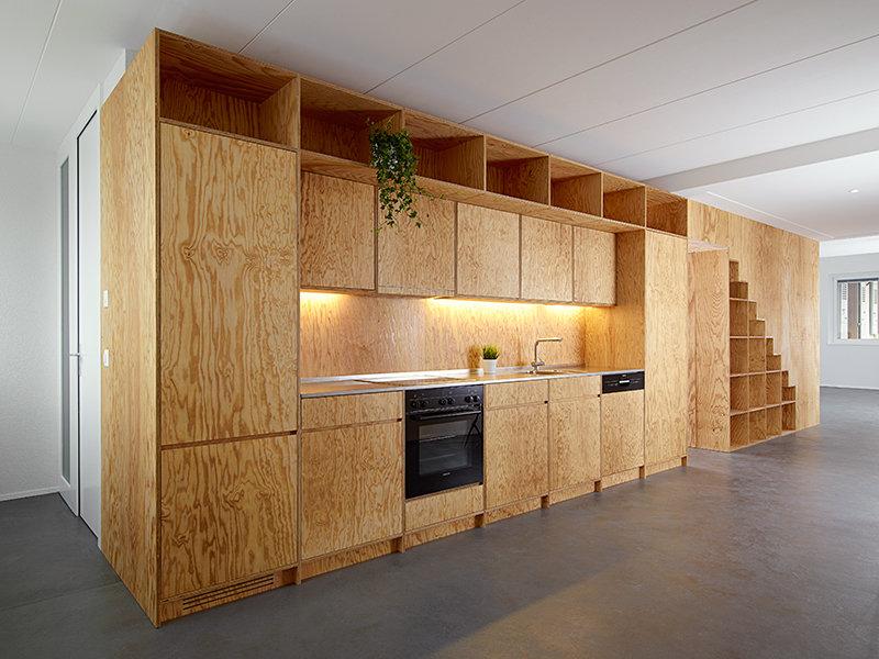 самодельная кухня из осп здоровья