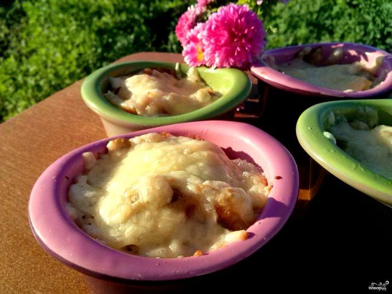 жульен с грибами классический рецепт с фото