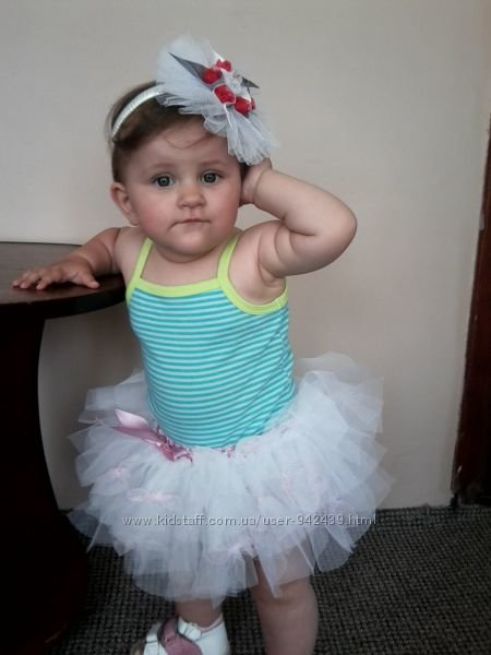 Фатиновая юбка для малышки