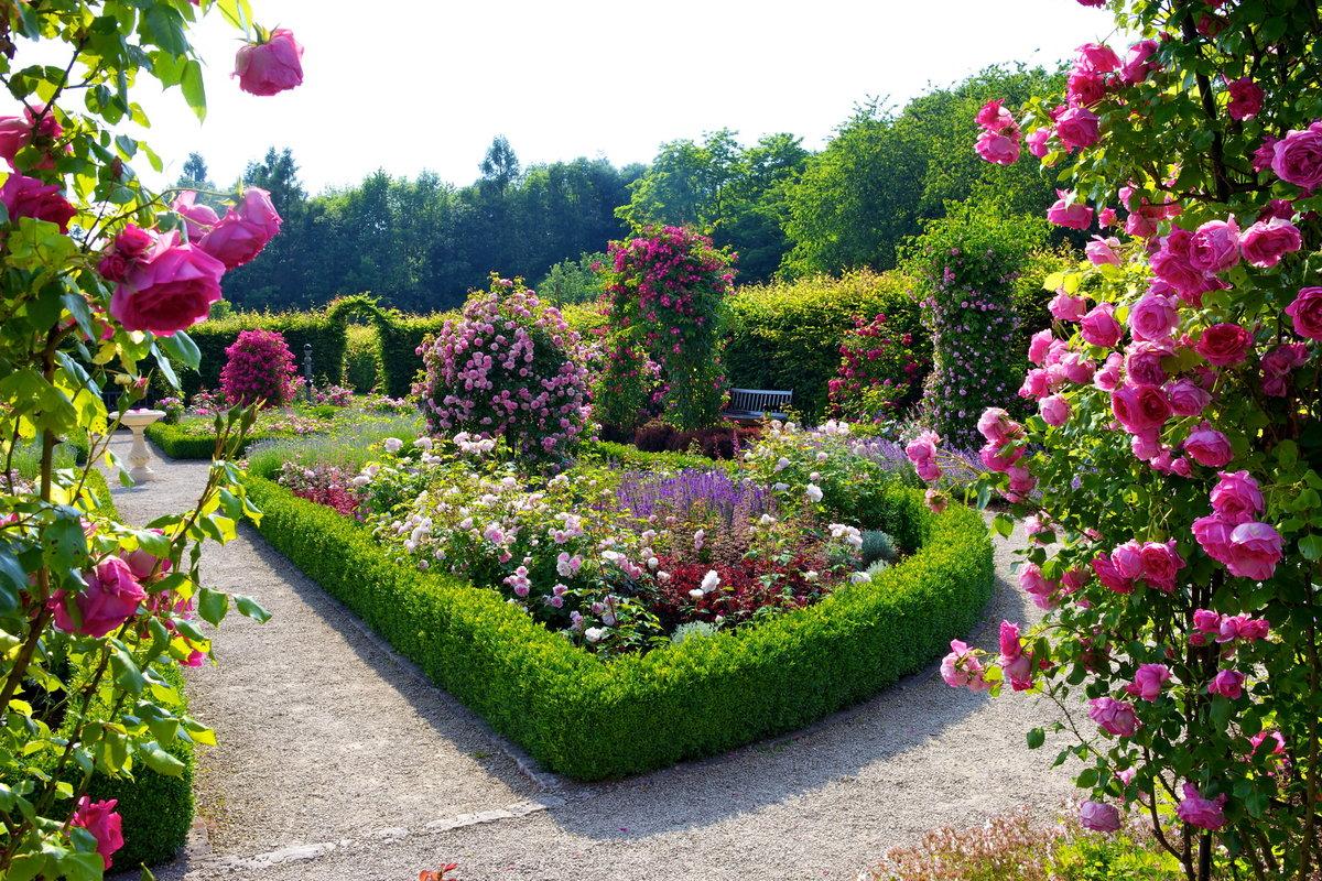 Flower Garden Wallpapers Best Wallpapers. Prelimb 3d Garden Design ...