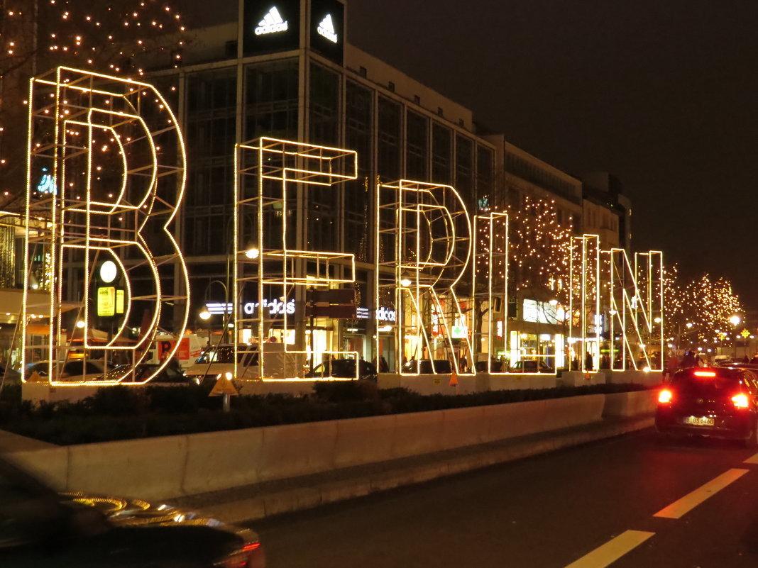 Берлин в декабре фото