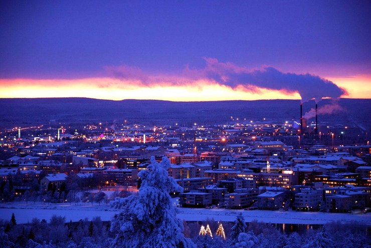 Новогодние Хельсинки |
