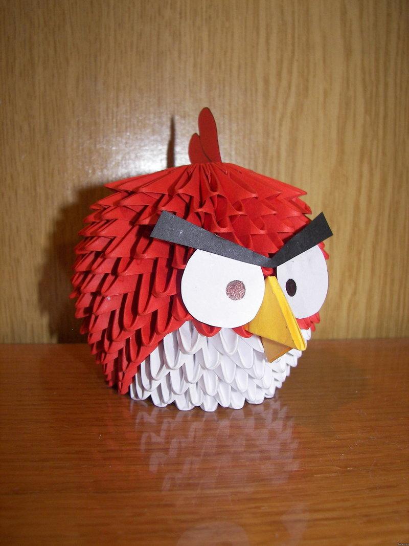 Красная злая птица