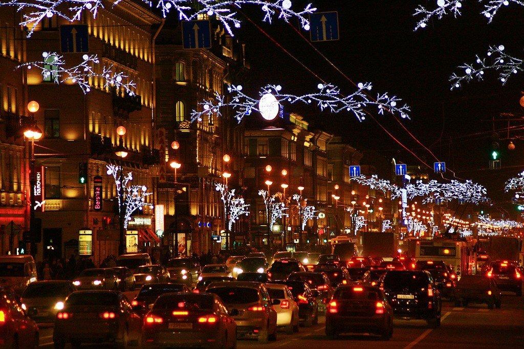 виктория новогодний ночной город фото поэтому