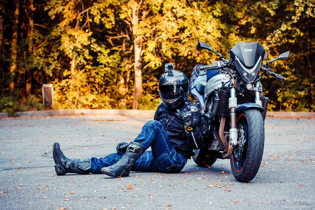 Картинки с мотоциклистами, добрым утром стихами