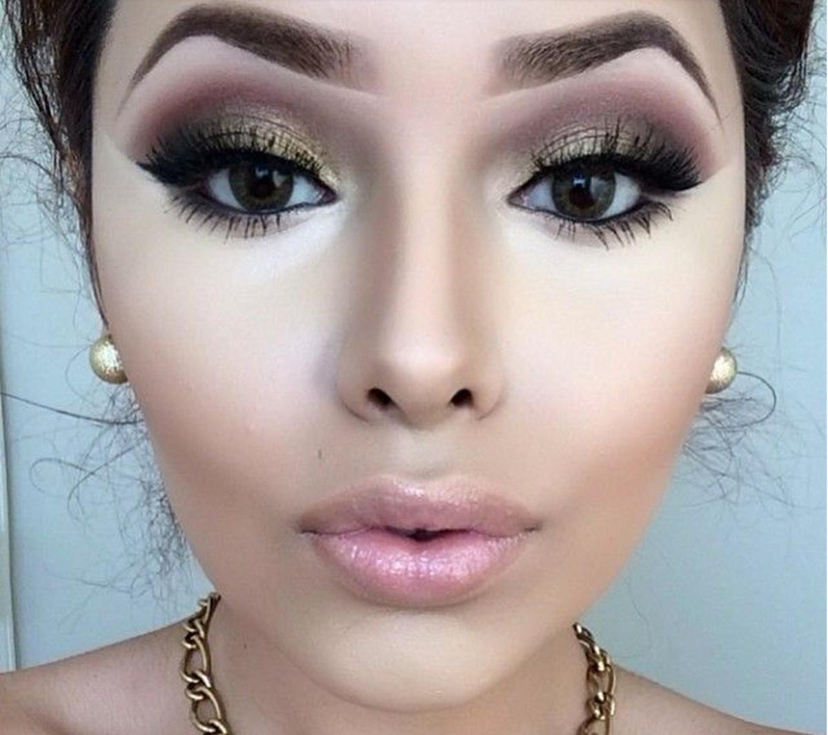 красивый макияж для увеличения глаз фото анджапаридзе меняла цвет