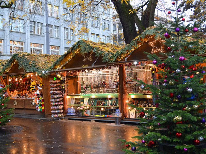 Красочный рождественский Цюрих глазами азербайджанца