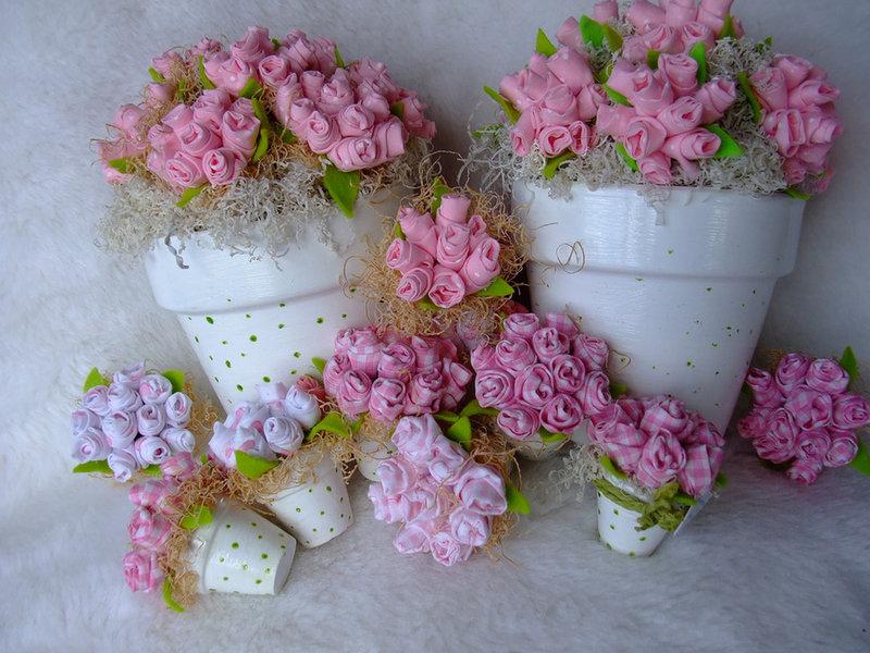 искусственные цветы из ткани своими руками по:
