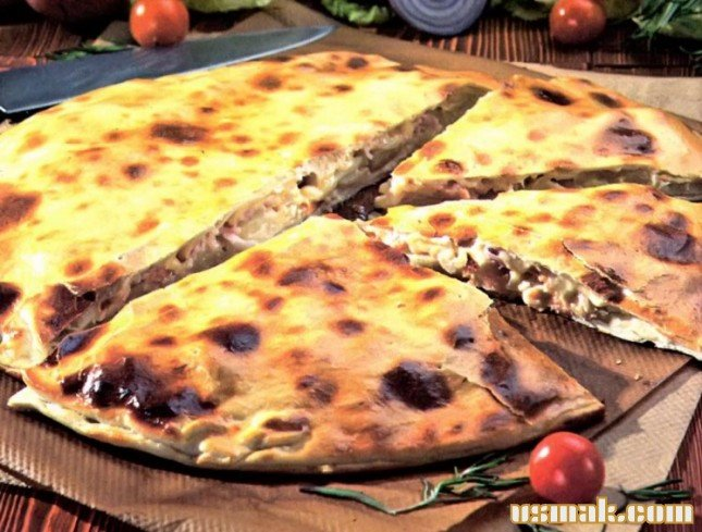 Пицца закрытая рецепт с фото пошагово