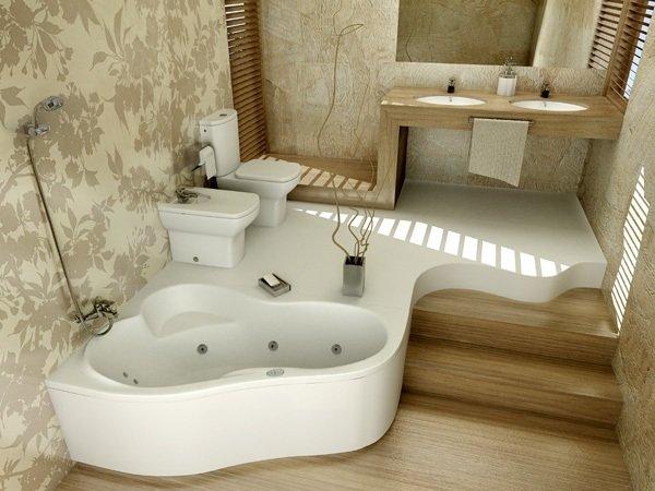 Каким может быть дизайн ванной комнаты? Фотогалерея с оригинальным дизайном ванных комнат в различных стилях интерьера.
