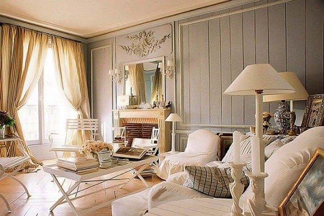 Как правильно оформить различные жилые помещения в стиле шебби шик?