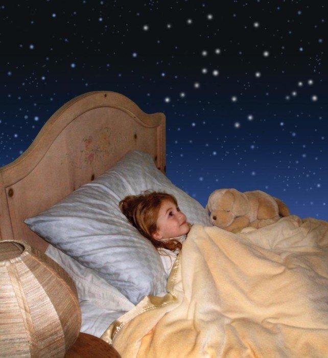 Подглядывание ночью в детской комнате порно