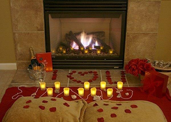Романтический сюрприз в домашних условиях фото