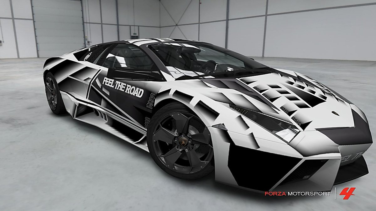 Black White Lamborghini Reventon Card From User Artyrik Ru In