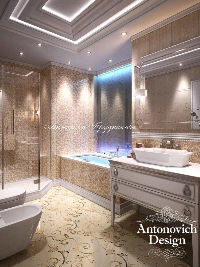 ванной комнаты в стиле Ампир