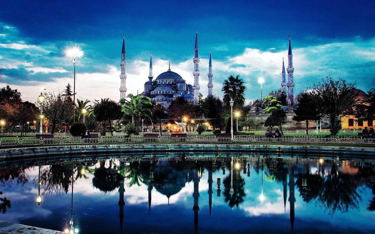 Стамбул открытка