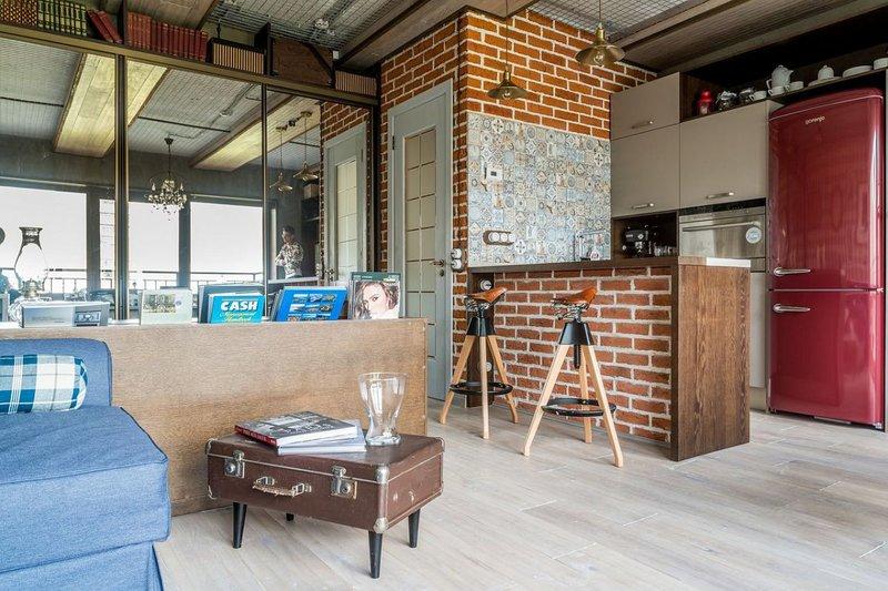 Статья о стиле лофт на кухнях, особенности дизайна интерьера