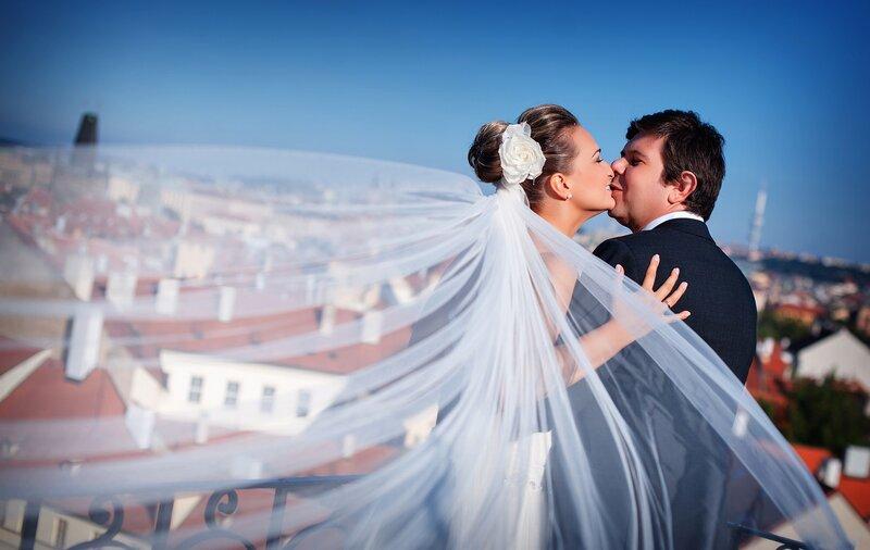 Символическая свадьба в Чехии Чехия