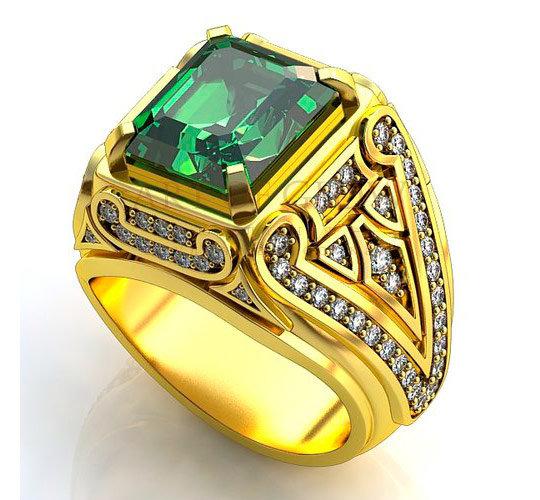 фото золотые кольца мужские