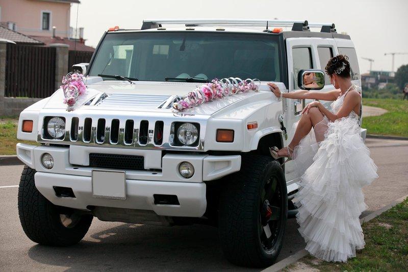 Свадебный Hummer H2