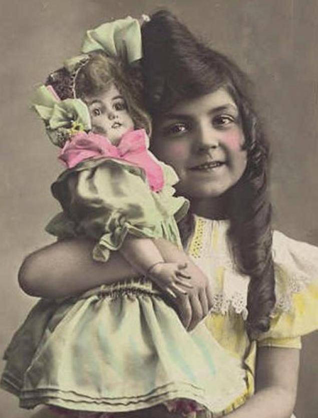 Юбилеем, фото открытки с куклами
