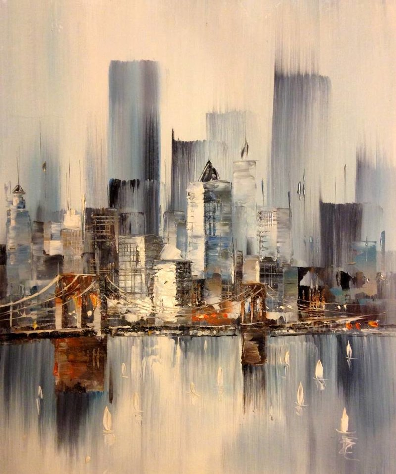 картины фото города