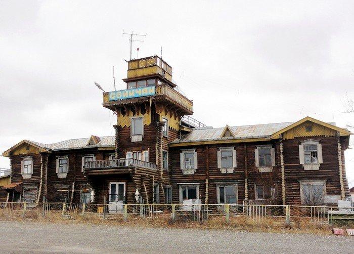 Аэропорт Сеймчан, Магаданская область, Россия