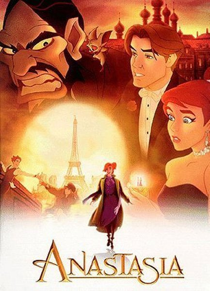 anastasia the movie novel Anastasia (1997 film) will premiere a new stage production of anastasia, with the book by terrence six songs from the animated movie and additionally.